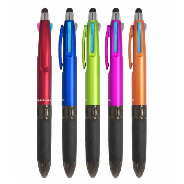 CM-679 文具線高品質電容觸控三色筆 1